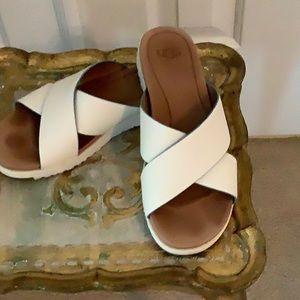 White UGG Sandals